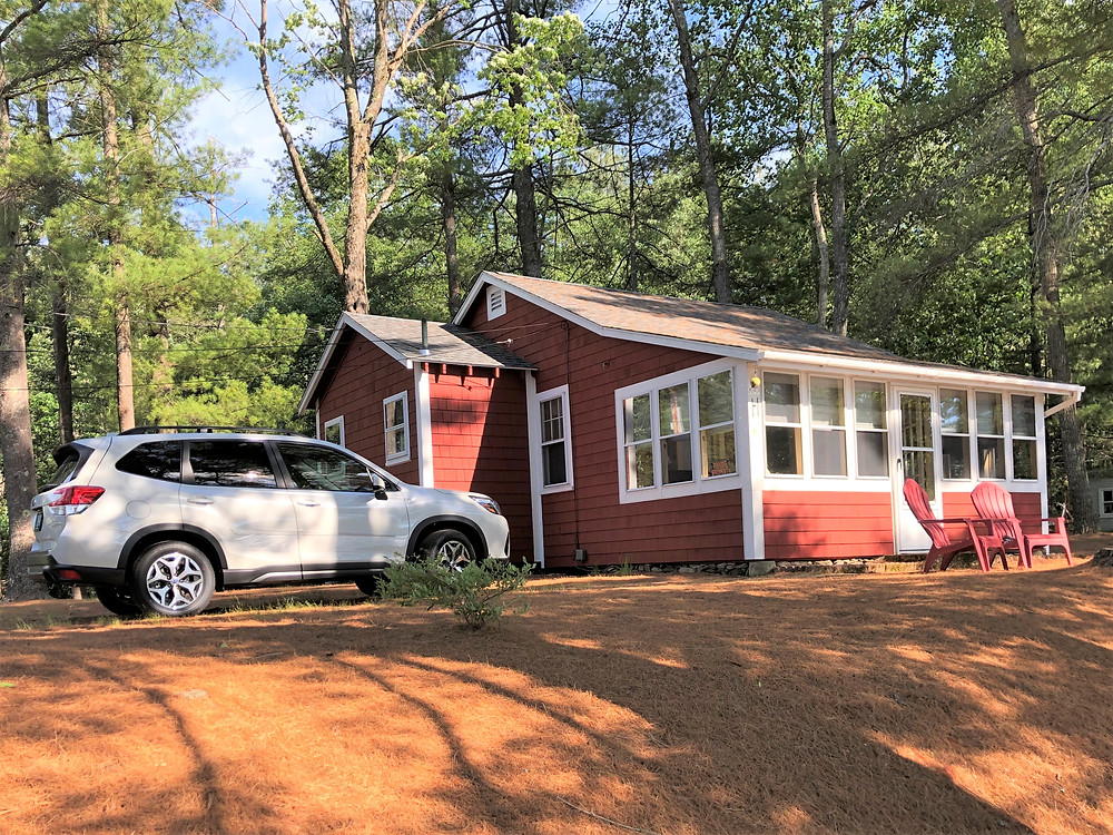 Camp at Snake Pond in Gardner, MA
