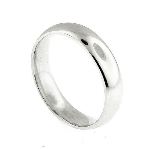 platinum 950 5 mm men s wedding band ring size 9 esmeralda