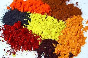 multiple dye stuff colors
