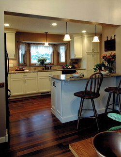 White Painted Kitchen, Vadnais Hgts