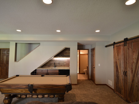 10 ways to creatively design your basement