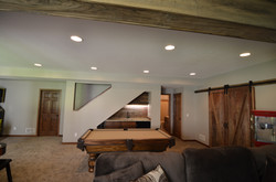 Barnwood Basement Finish