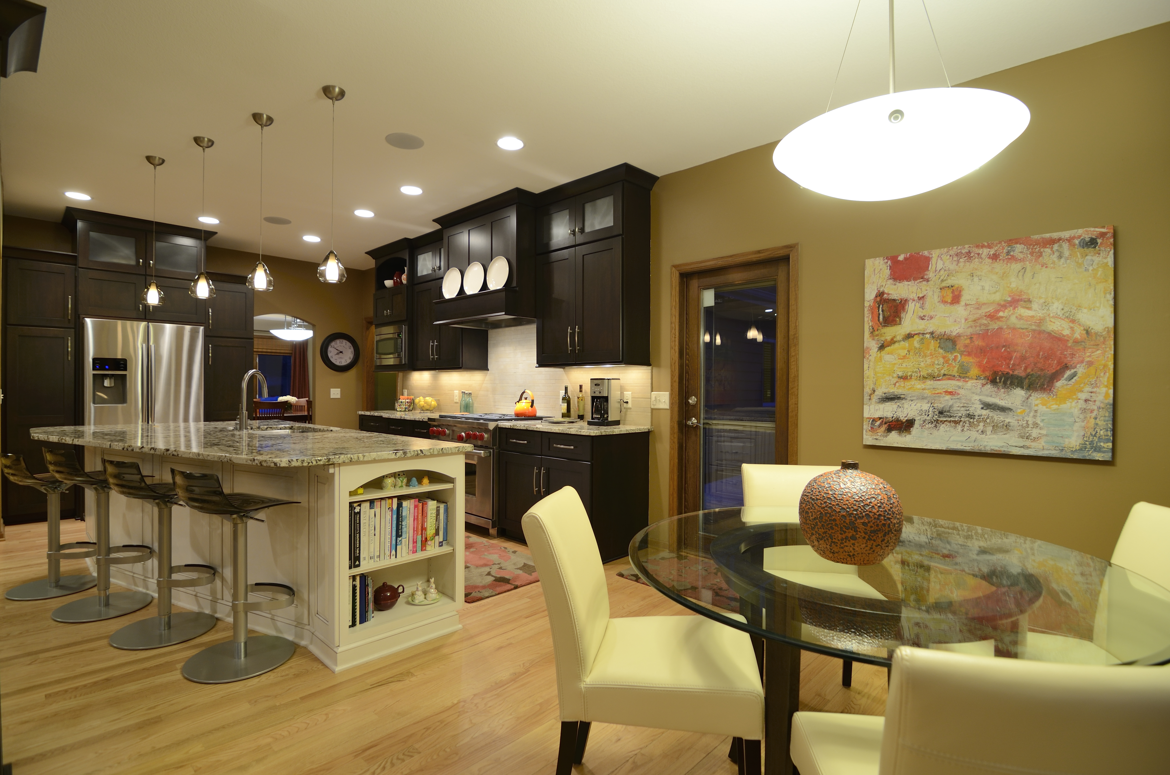 Remodelers Showcase kitchen in Eagan
