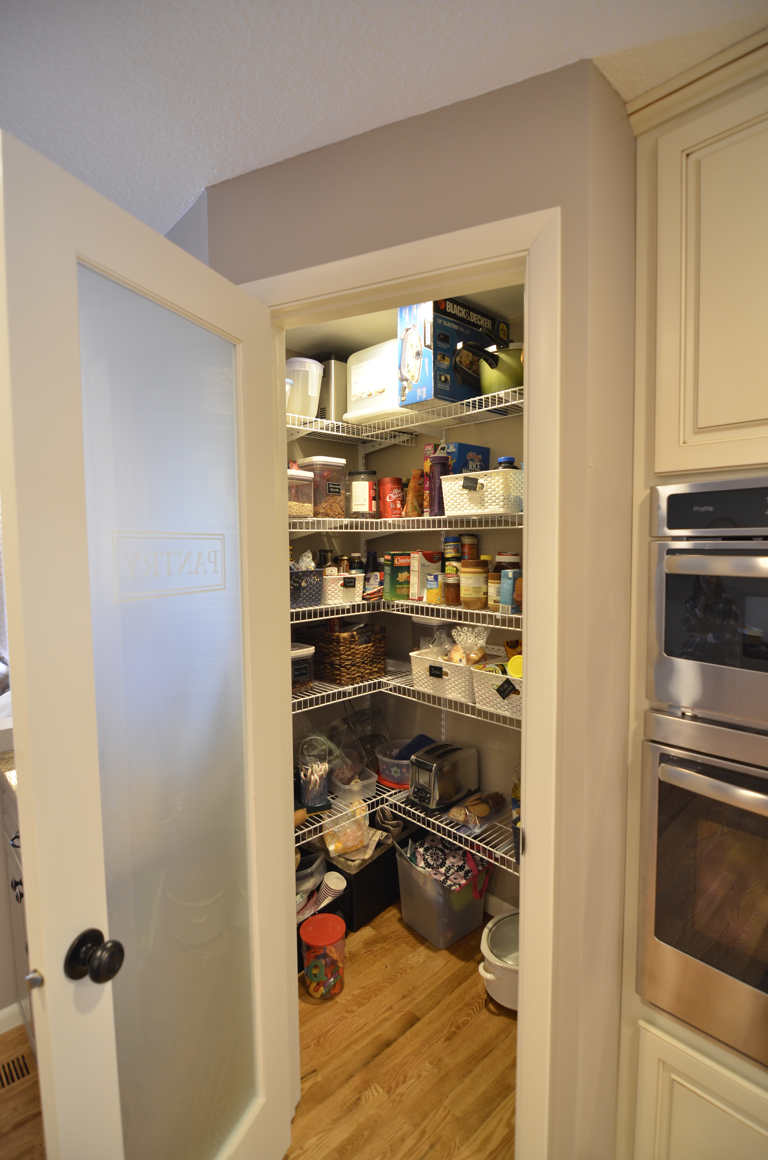 After - Inside New Pantry