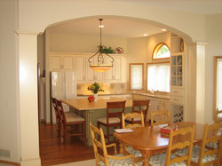 White Painted Kitchen in Woodbury