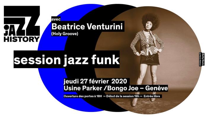 Jazz History & Bongo Joe - Session Jazz Funk