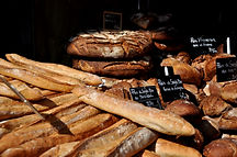 """""""Une baguette"""" the french bread."""