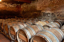 French castle, cellars wine. Ohlala! ...la France