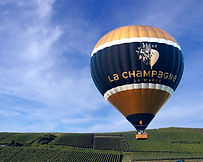 Hot air ballooning in France. Ohlala! ...la France