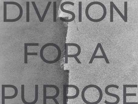 DIVISION FOR A PURPOSE