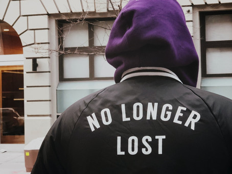 YOU'RE NEVER TOO LOST TO BE FOUND PT. 1