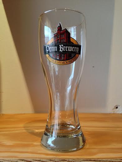 Penn Brew Weizen Glass