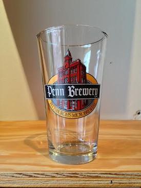 Penn Brew Pint Glass