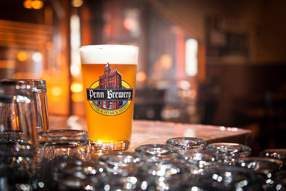 Beer in a Penn Brewery glass