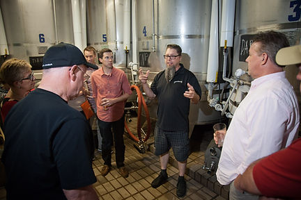 Penn Brewery tour group
