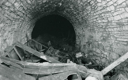19th-century lagering cave