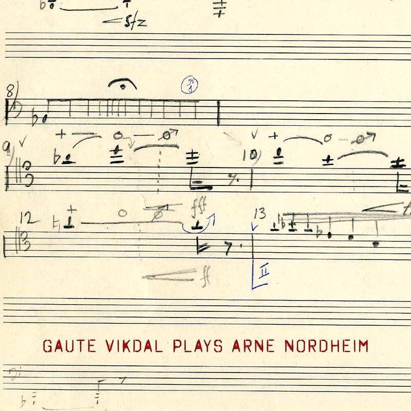 Booklet_Gaute VIkdal plays Arne Nordheim
