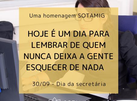 30/09 - Dia da secretária