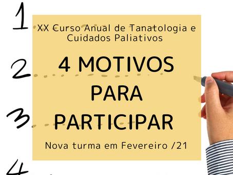 4 motivos para participar do XX Curso Anual