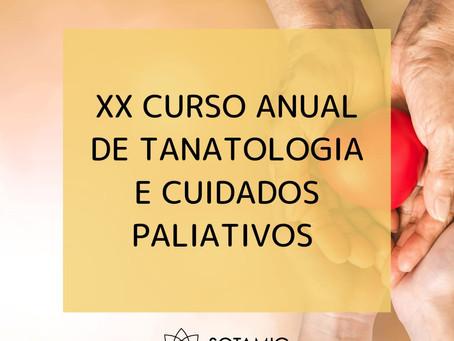 XX Curso Anual de Tanatologia e Cuidados Paliativos
