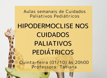 Hipodermoclise nos Cuidados Paliativos Pediátricos