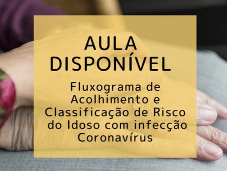 Fluxograma de Acolhimento e Classificação de Risco do Idoso com infecção Coronavírus