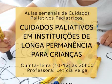 Cuidados Paliativos em instituições de longa permanência para crianças