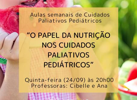 O papel da nutrição nos Cuidados Paliativos Pediátricos