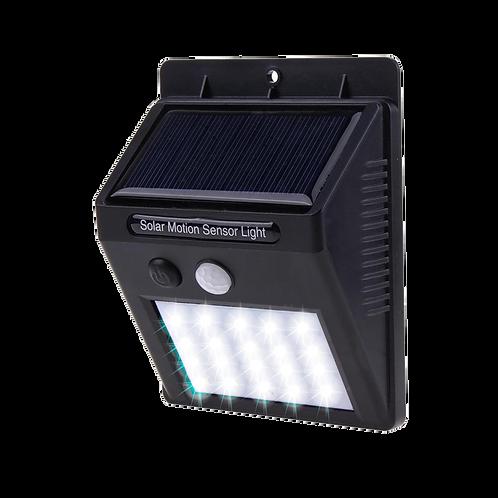 1 Lampara Solare Exterior Con Sensor De Movimiento Y 3 Funciones