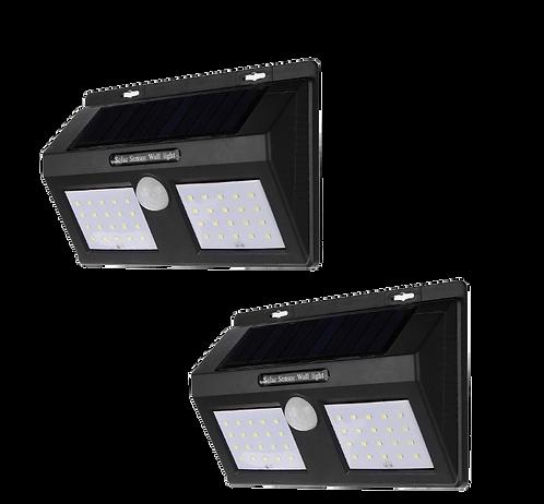 Lamparas Solares Exterior Con Sensor De Movimiento Y 3 Funciones Diferentes