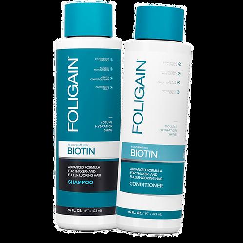 Shampoo + Acondicionador con Biotina