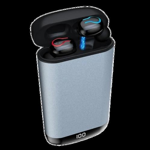 Audífonos Manos Libres Bluetooth 5.0 Power Bank 6000 Mah