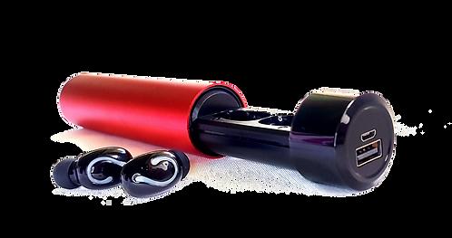 Audífonos Manos Libres Bluetooth 5.0 Con Power Bank Resistentes A Sudor Y Lluvia