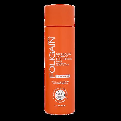 Shampoo con 2% Triodixil para el Recrecimiento del Cabello en Hombres.
