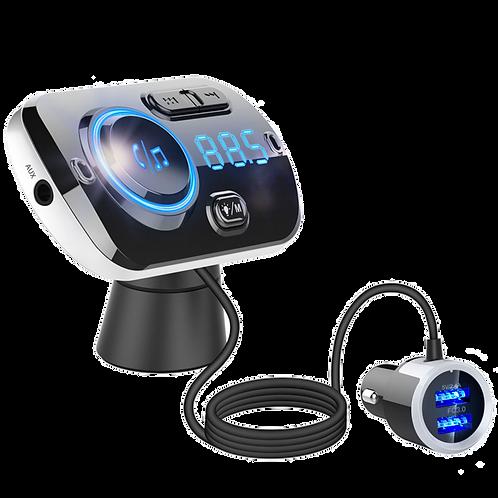 Receptor Transmisor Bluetooth Fm Carro