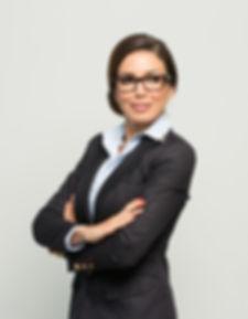 Beautiful Miss Universe Canada is wearing stylish smart eyewear EyeForcer.