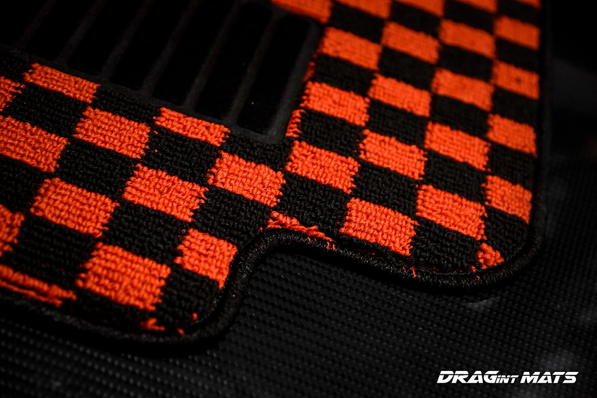 checkered srz style gallery d jdm mats coco floor dragintmats s davie
