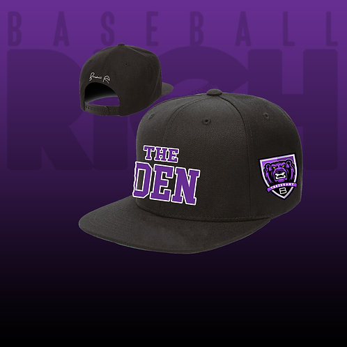 THE DEN SNAP BACK HAT