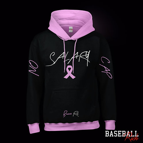 NO SALARY CAP HOODIE (BREAST CANCER AWARENESS)