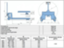 Dados técncos paleteira BYG Evolution L 2000 BR