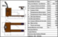 Dados técnicos paleteira manual BYG Eolution L 2.6 G