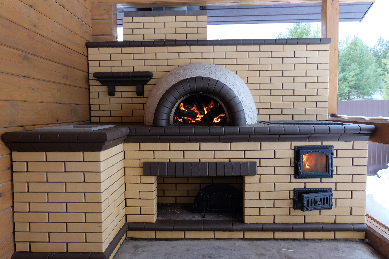 Помпейская печь в комплексе