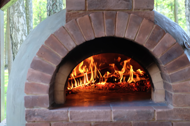 Помпейская печь, огонь в печи