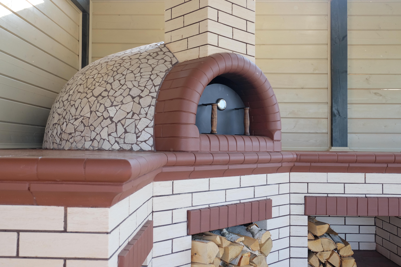 Помпейская печь с мангалом