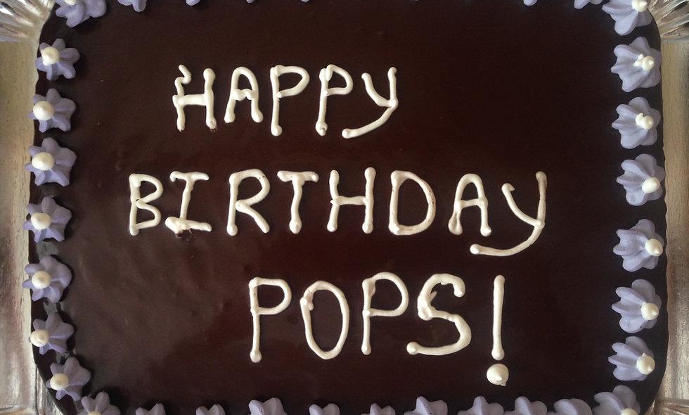 9X13 Birthday Cake