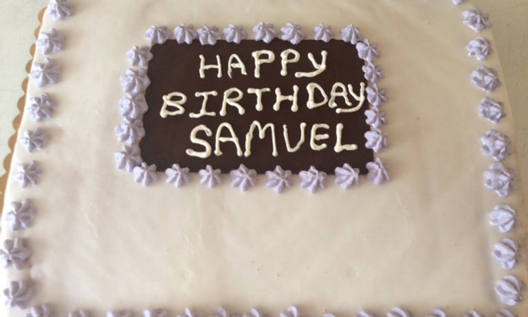 11X13 Birthday Cake