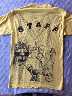 Llamapalooza t-shirt