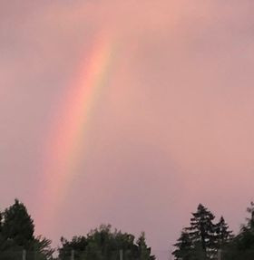 A Faded Rainbow In Every Storm