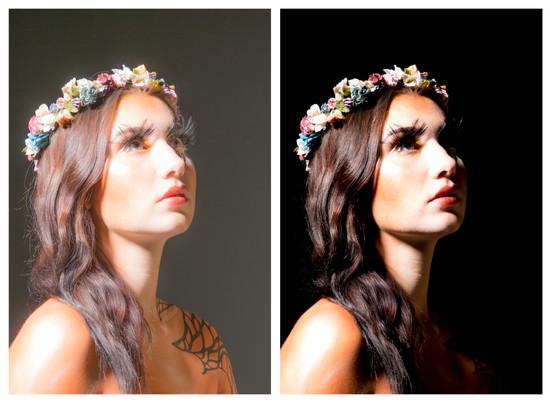Model: Gaia Makeup: Rachey