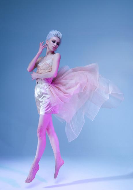 Model: Jude Karda Makeup: Neil Silverman Fashion Designer: Hafsa Iftikhar Stylist: Lauren Walker